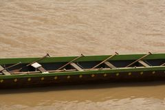 Barca lunga Immagini Stock