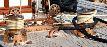 Barca molto piacevole, royale dei regates Immagini Stock Libere da Diritti