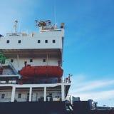 Barca a Montreal Fotografie Stock Libere da Diritti