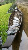 Barca munita lunga Immagine Stock Libera da Diritti