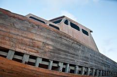 Barca naufragata fotografie stock