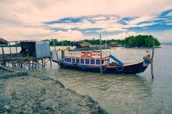 Barca nel Bangladesh fotografia stock libera da diritti