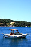 Barca nel Croatia Fotografia Stock