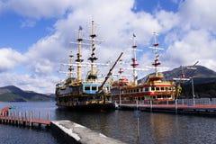 Barca nel lago Fotografia Stock Libera da Diritti
