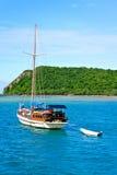 Barca nel mare Immagine Stock