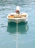 Barca nel porto dell'oceano Immagini Stock