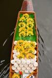 Barca nel servizio di galleggiamento della Tailandia Fotografia Stock