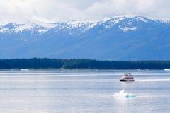 Barca nell'Alaska Fotografia Stock Libera da Diritti