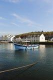 Barca nella baia fotografie stock libere da diritti