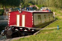 Barca no rio Imagens de Stock