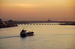Barca nos Great Lakes Imagens de Stock