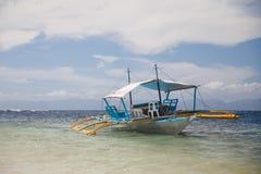 Barca per un piccolo gruppo di persone Fotografie Stock Libere da Diritti
