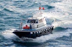Barca pilota Immagini Stock