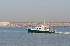 Barca pilota Fotografie Stock Libere da Diritti
