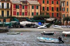 Barca in Portofino Fotografia Stock Libera da Diritti