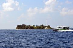 Barca precisa di velocità di trasferimento del traghetto Immagine Stock