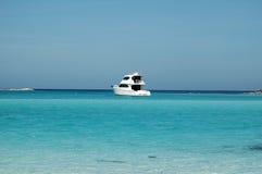 Barca privata di pesca sportiva immagine stock
