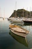 Barca in procida Fotografia Stock