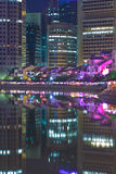 Barca Quay di Singapore fotografie stock libere da diritti