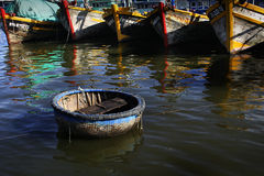 Barca rotonda Immagine Stock