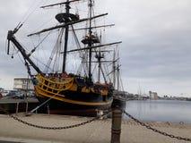 Barca in Saint Malo Bretagna fotografia stock libera da diritti
