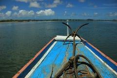 Barca Senegal immagini stock