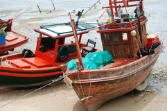 Barca in si Chang Island di Kho a Chonburi Tailandia Immagini Stock