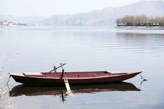 Barca sola Immagini Stock Libere da Diritti