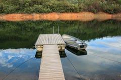 Barca sola Fotografia Stock Libera da Diritti