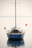 Barca sola Fotografia Stock
