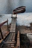 Barca sola Fotografie Stock