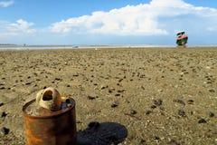 Barca sola Fotografie Stock Libere da Diritti