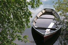 Barca sommersa Fotografia Stock