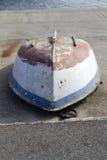 Barca sottosopra fotografia stock libera da diritti