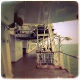 Barca spaventosa Immagini Stock Libere da Diritti