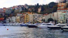 Barca su Bosphours Istabul Fotografia Stock Libera da Diritti