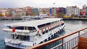 Barca su Bosphours Istabul Immagini Stock