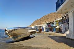 Barca su Klima Fotografia Stock