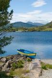 Barca sul lago superiore, Killarney Fotografie Stock Libere da Diritti