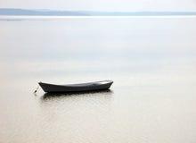 Barca sul mare Fotografie Stock
