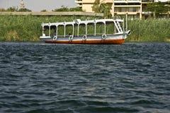 Barca sul Nilo Fotografie Stock Libere da Diritti