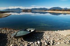 Barca sull'acqua Fotografie Stock Libere da Diritti