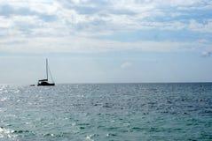 Barca sull'acqua Fotografia Stock