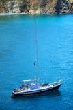 Barca sulla riva Fotografia Stock