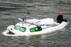 Barca Sunken Immagine Stock Libera da Diritti
