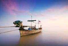 Barca tailandese Immagini Stock
