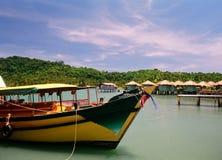 Barca tailandese Fotografie Stock Libere da Diritti