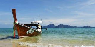 Barca tailandese Fotografia Stock