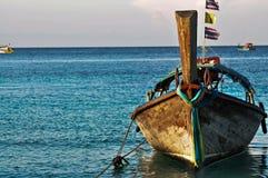 Barca Tailandia di Longtail Fotografia Stock Libera da Diritti