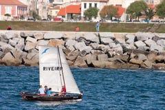 Barca tradizionale Fotografia Stock
